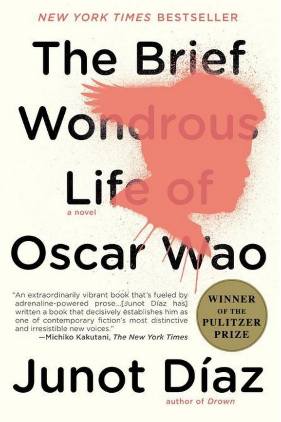 New Jersey: The Brief Wondrous Life of Oscar Wao by Junot Diaz