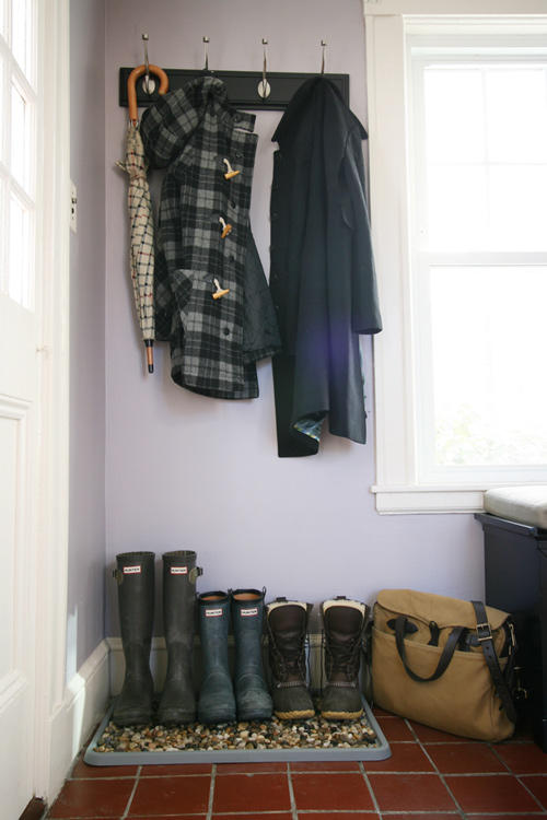 Create a DIY Boot-Drying Area