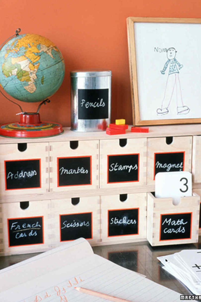 Erasable Chalkboard Labels