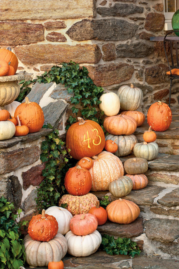 Personalize Porch Pumpkins