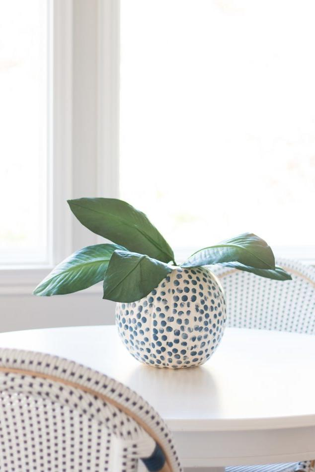 20 Incredible Ways to Decorate with Pumpkins This Fall Fabric-Inspired Paint Job