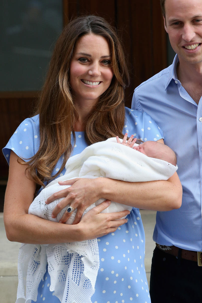 Our Prince Charming! 15 Adorable Photos of George Leaving The Hospital