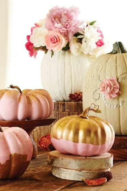 20 incredible ways to decorate with pumpkins this fall fall baby shower - Decorate Pictures