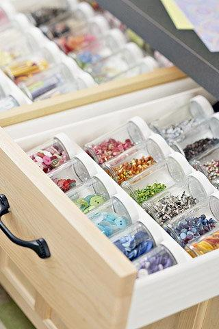 Glitter Drawer Organizer