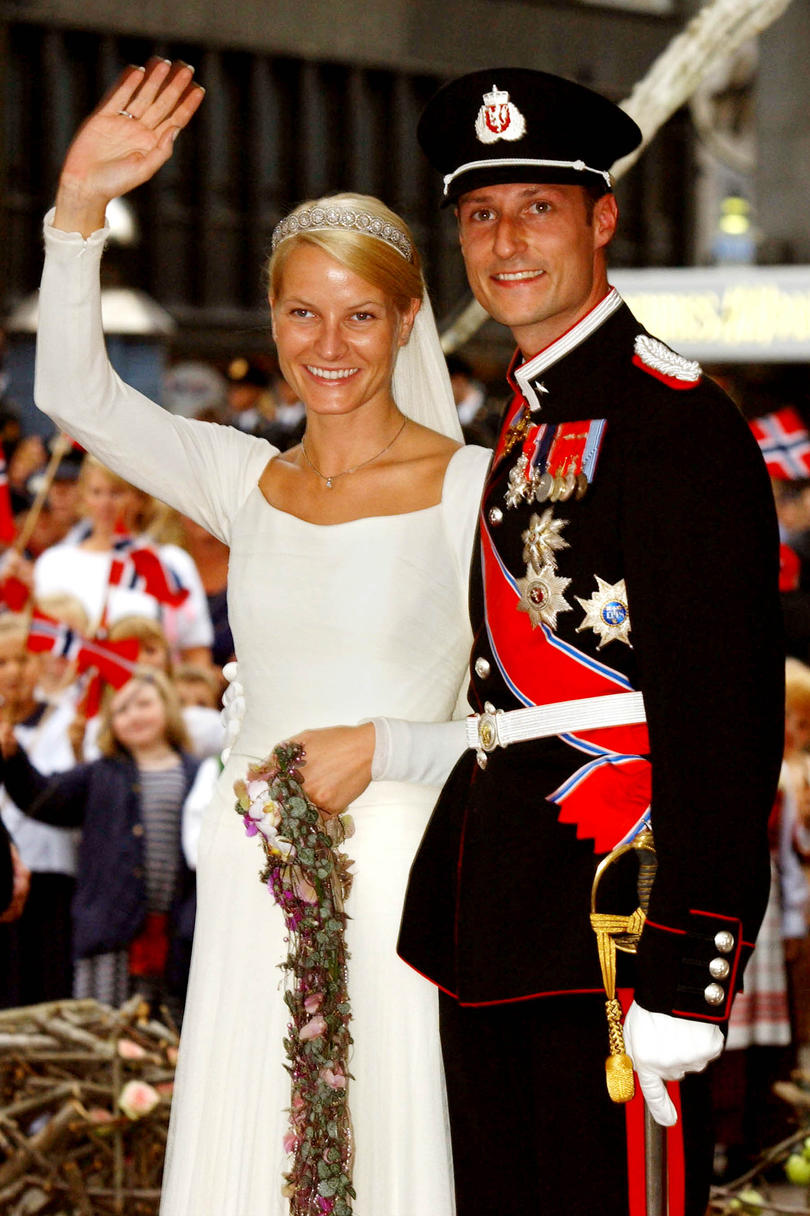 Prince Haakon of Norway and Mette-Marit Tjessem Hoiby