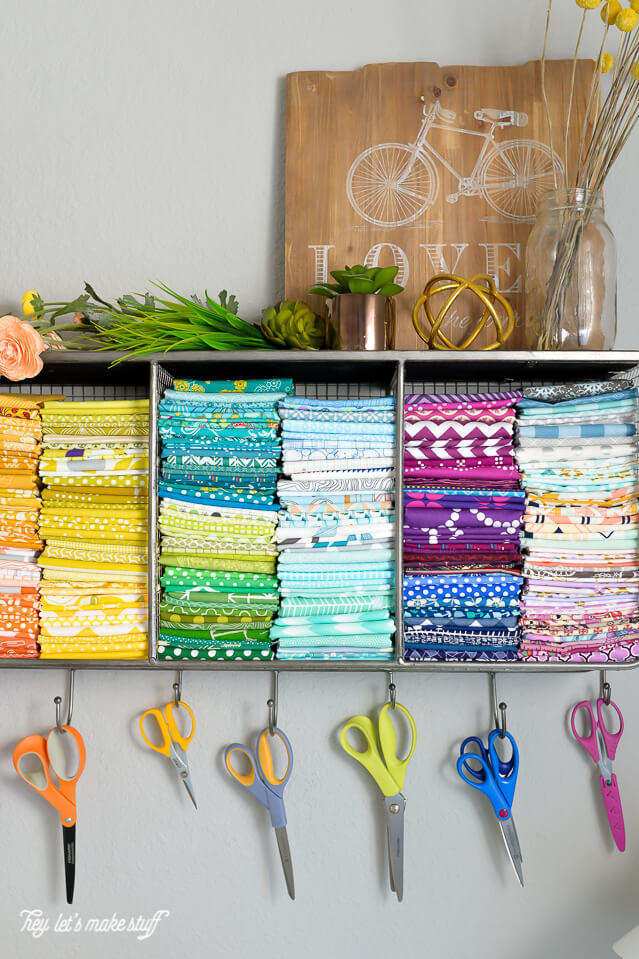 Hanging Scissors and Fabric Space