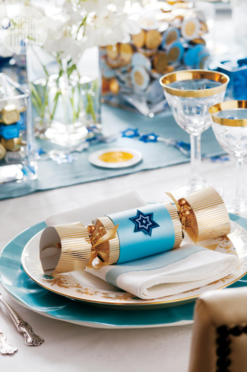 Transform Christmas Crackers & 14 Festive Hanukkah Décor Ideas - Southern Living