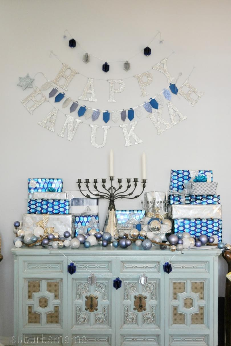 Hanukkah Gift Display