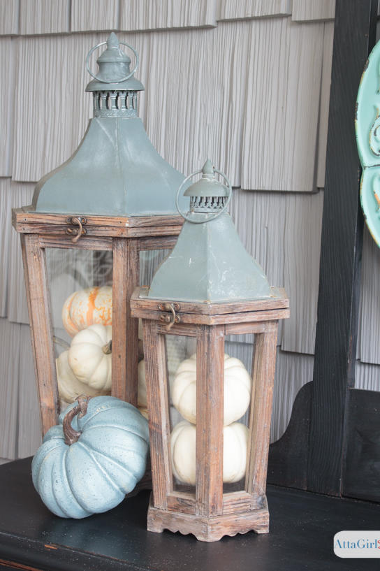 20 Incredible Ways to Decorate with Pumpkins This Fall Fill Old Lanterns