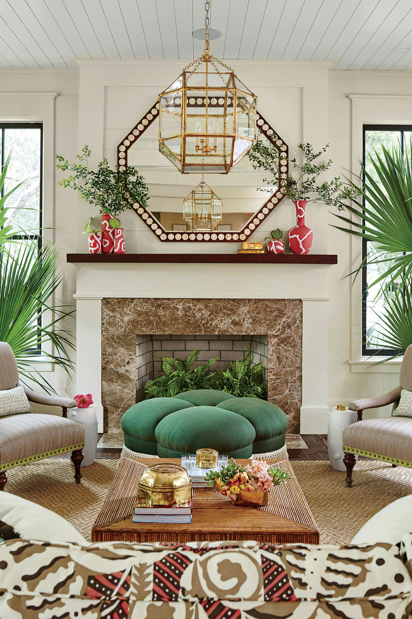 Our dream beach house step inside the 2017 southern for Southern living house plans with keeping rooms