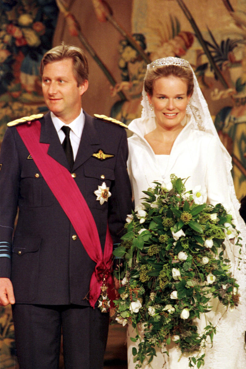 Prince Philippe of Belgium and Mathilde D'Udekem