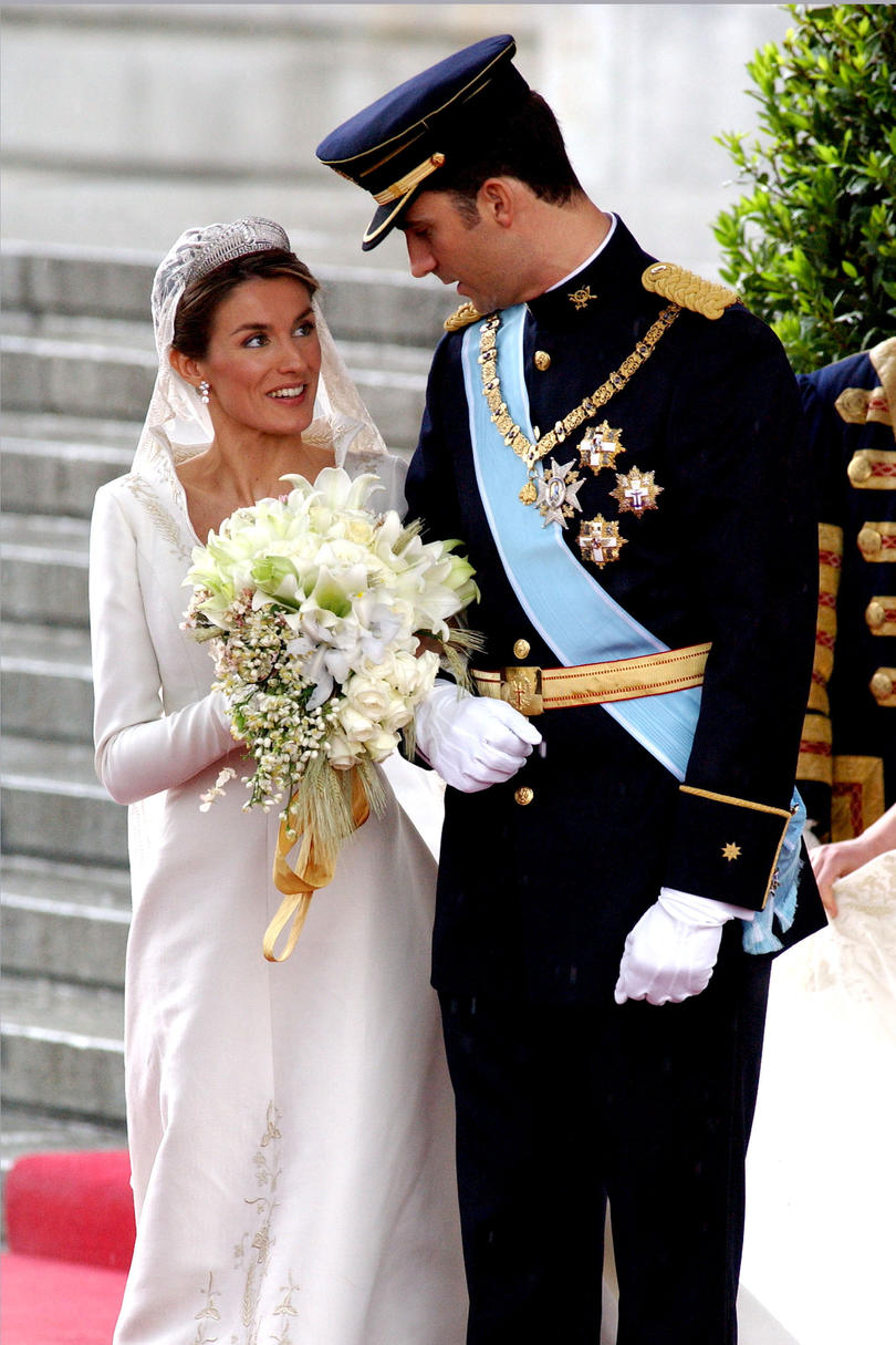 Prince Felipe of Spain and Letiza Ortiz