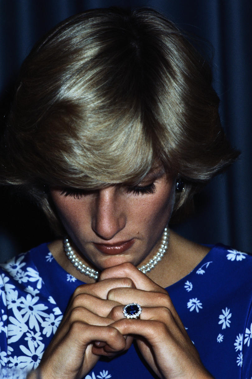Royal Engagement Rings Diana, Princess of Wales