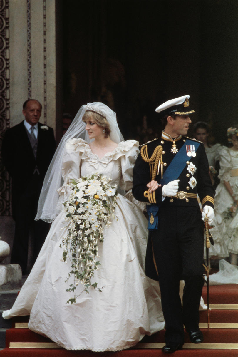 Charles, Prince of Wales and Lady Diana Spencer