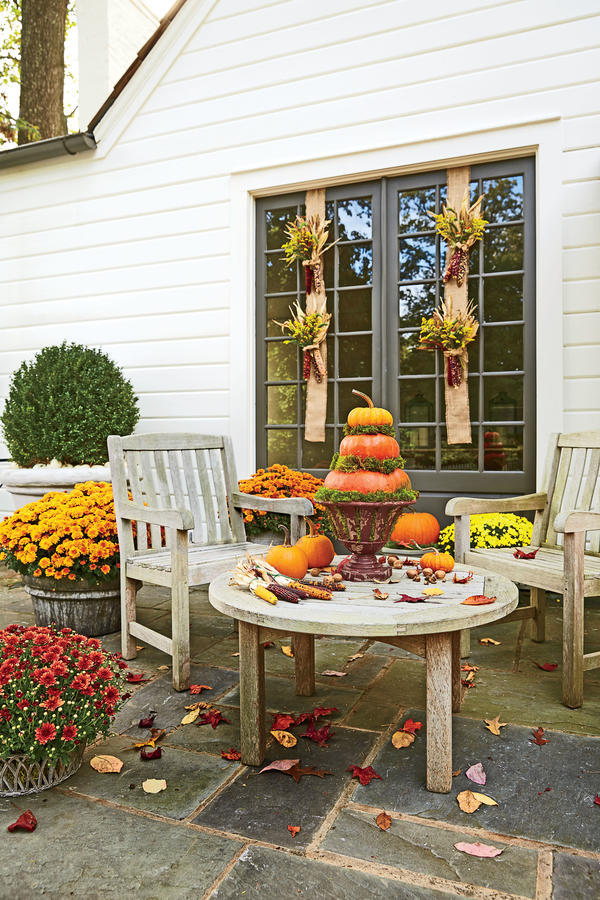 Add Classic Autumn Touches