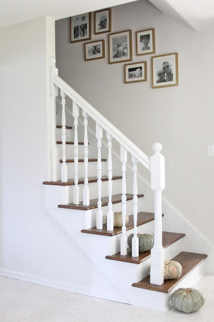 20 Incredible Ways to Decorate with Pumpkins This Fall Stock The Stairwell