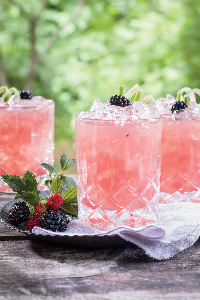 Summer Cobbler Cocktail