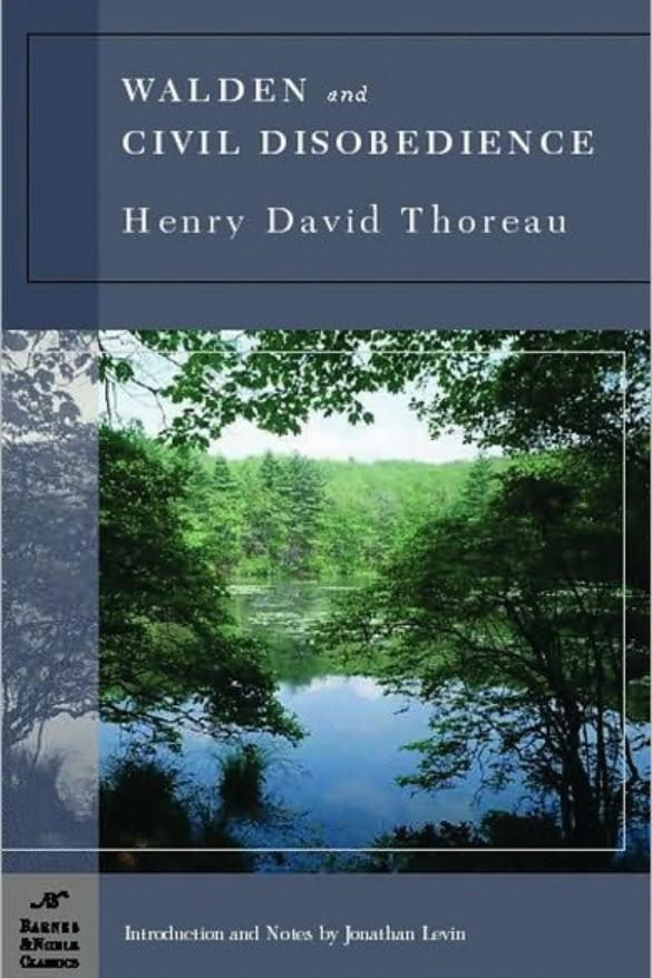 "RX_1707_Walden and ""Civil Disobedience"" by Henry David Thoreau"