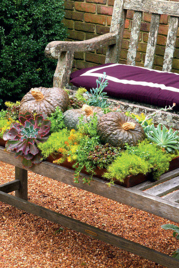 Create an Outdoor Table Topper