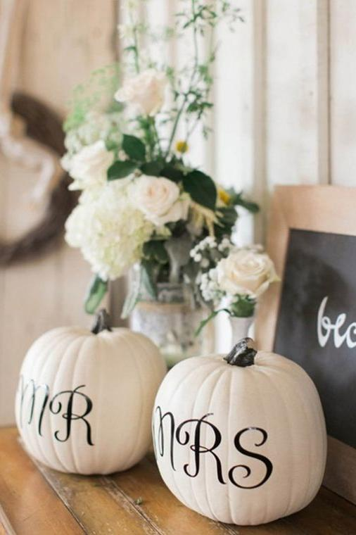 20 Incredible Ways to Decorate with Pumpkins This Fall Fall Wedding