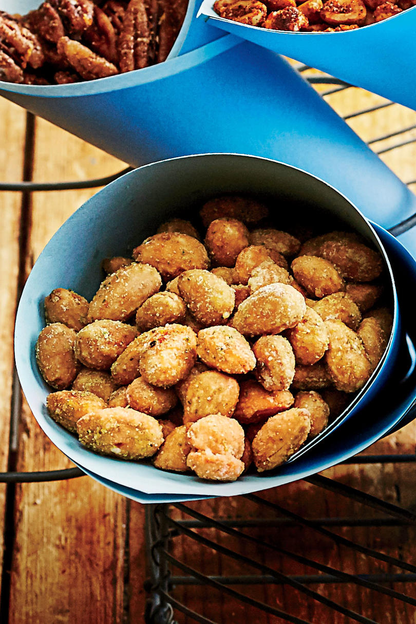 Rosemary Fried Almonds
