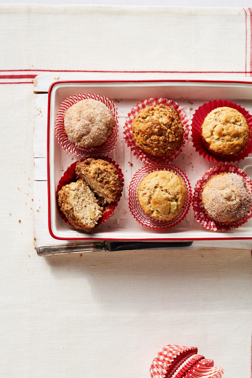 Caramelized Apple Toffee Muffins