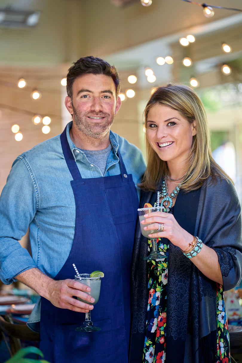 Jenna Bush Hager and Larry McGuire