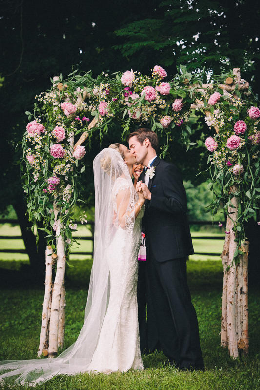Arch of Peonies