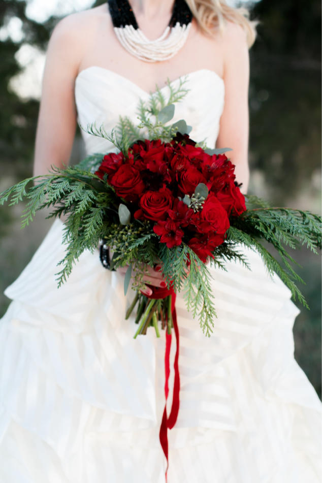 Mistletoe-Inspired Bouquet