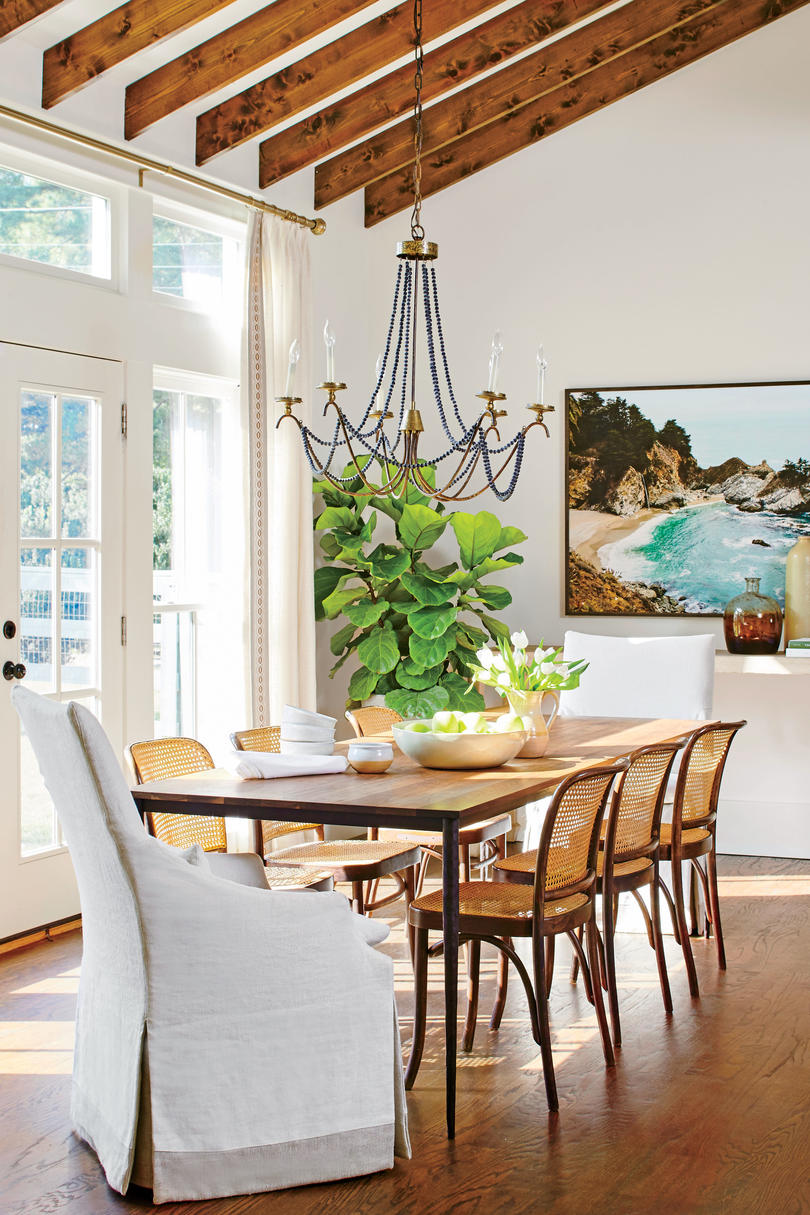 Anna Braund White Cottage Dining Room
