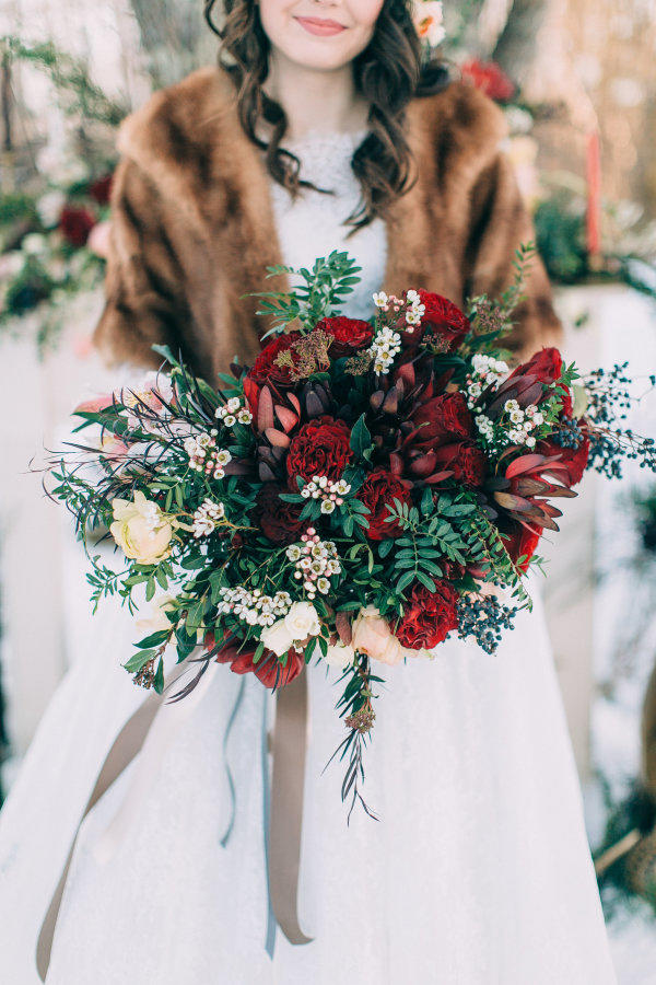 Whimsical Christmas Bouquet