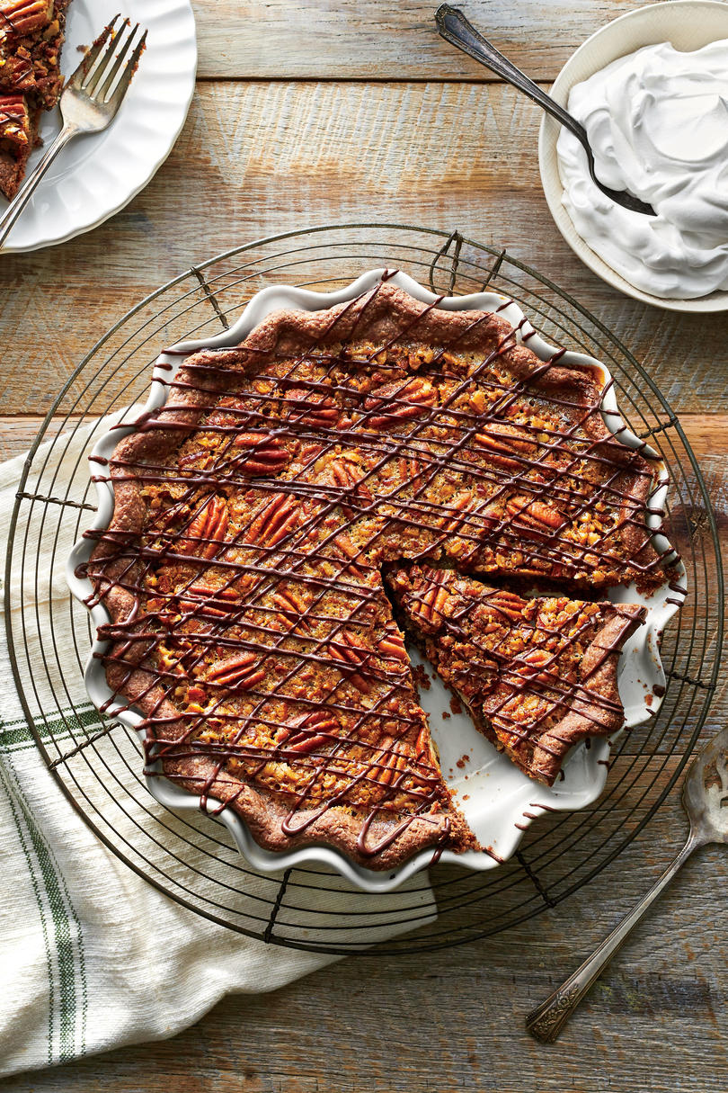 Double-Chocolate Pecan Pie