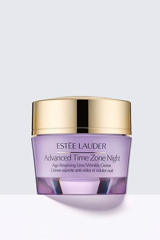 RX1707_ All-Time Best Skincare Secrets Estee Lauder Advanced Time Zone Night Creme