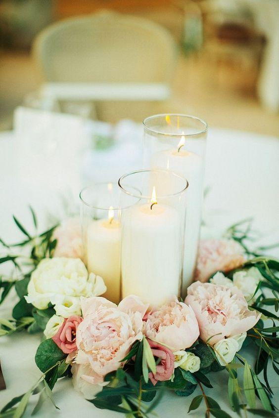 Beautiful Centerpieces Created With Candles - Southern Living