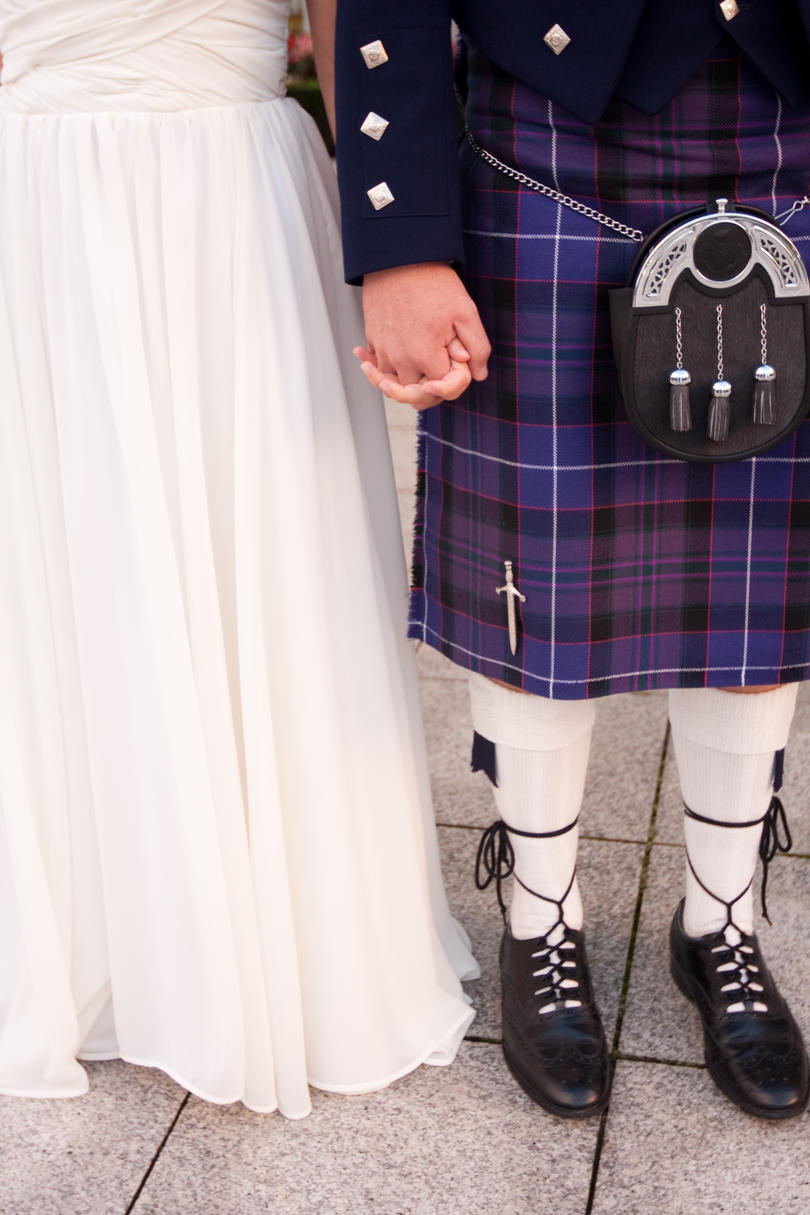 Scottish Kilt at Wedding