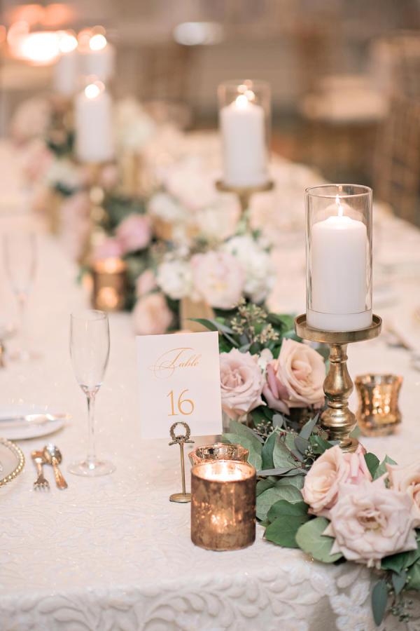 wedding table decor with candles beautiful centerpieces created with candles southern living 1170