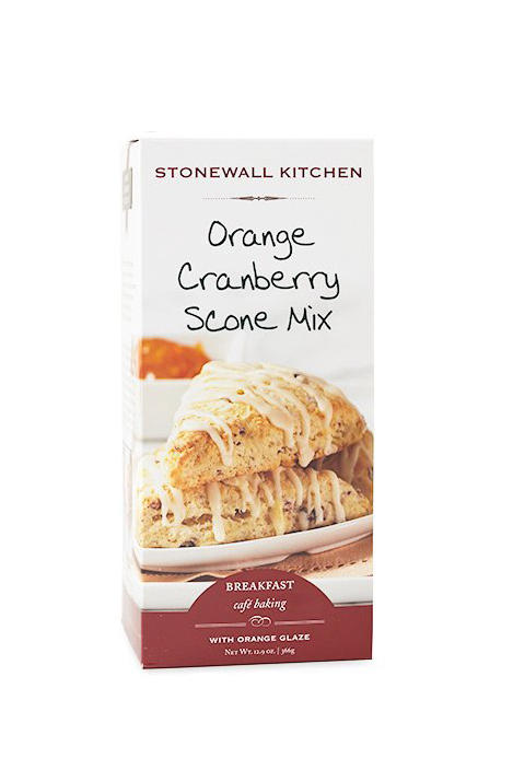 Stonewall Kitchen Orange Cranberry Scone Mix with Orange Glaze