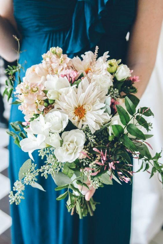 Wedding Flowers with Family Significance