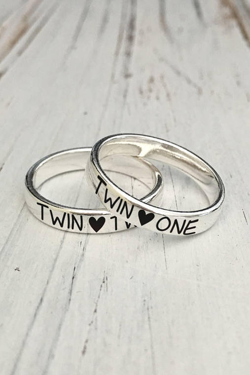 Twin One And Two Rings