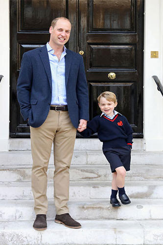 Prince George Back-to-School Photo