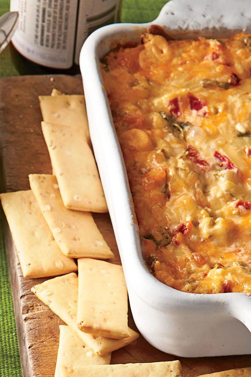 Baked Tex-Mex Red Pepper Cheese Dip