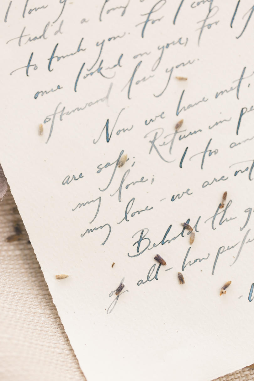 Wedding Day Love Note