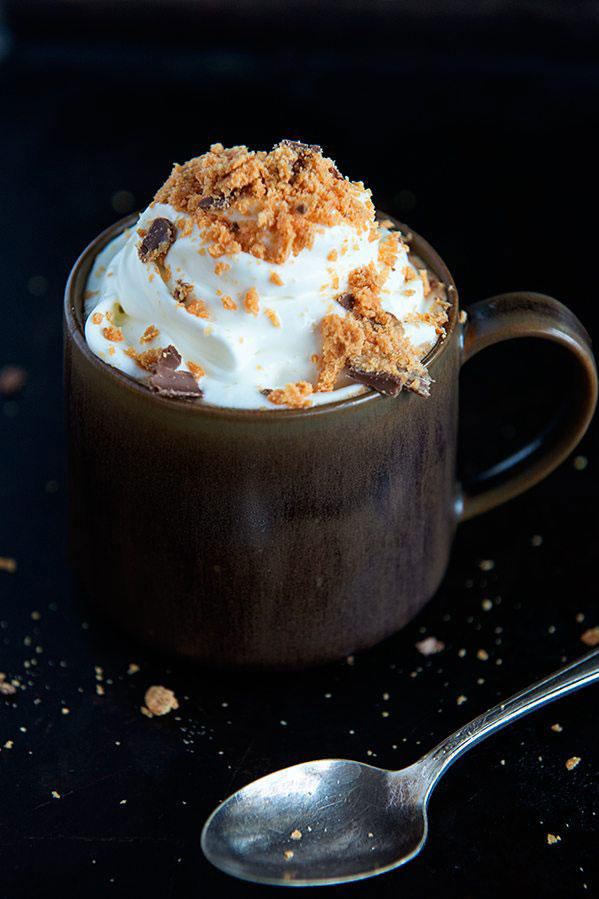 Butterfinger Hot Chocolate