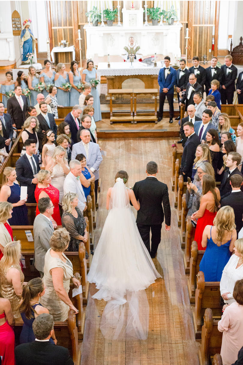 Stunning Church Ceremony