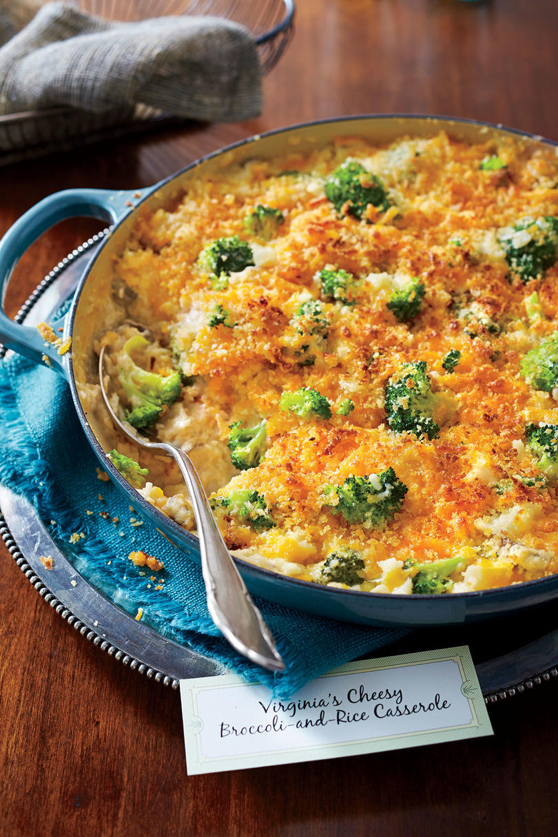 Cheesy Broccoli-and-Rice Casserole