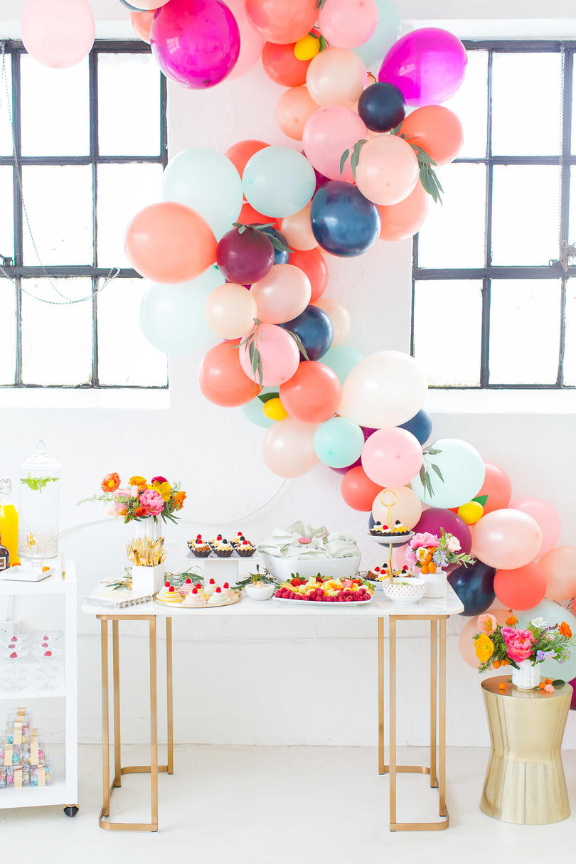 1709_ Creative Bridal Shower Themes Colorful Spring Shower