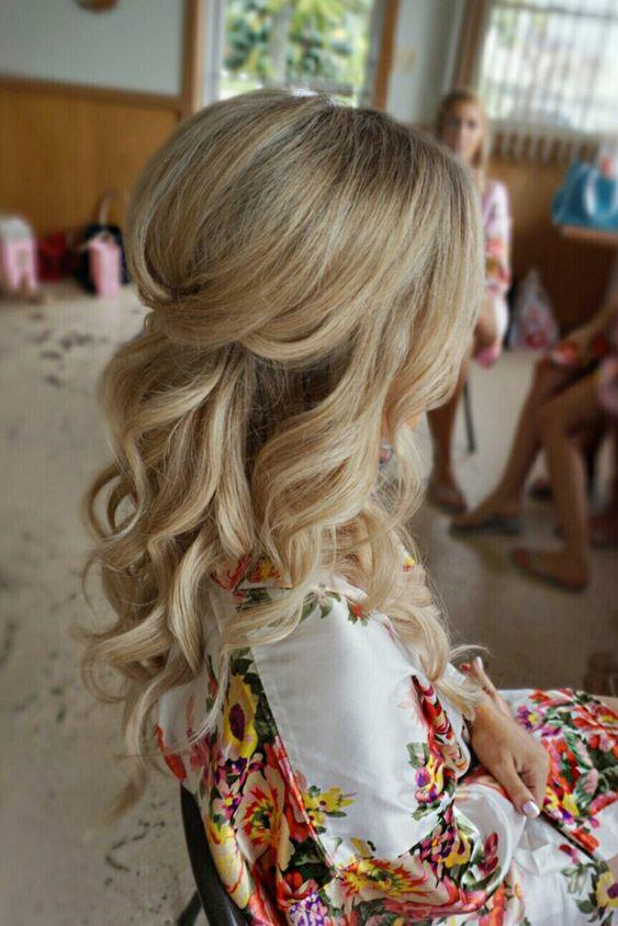 Our Favorite Half-Up Hairstyles for Bridesmaids - Southern Living