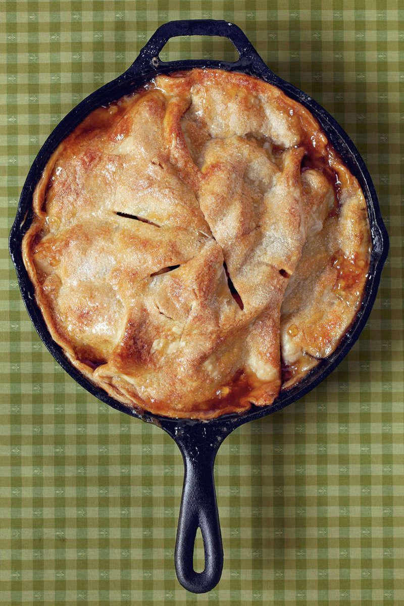 Easy Skillet Apple Pie