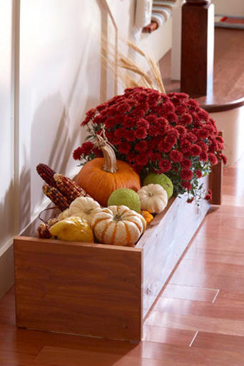 1709_ 21 Ideas for Potted Mums Welcome Fall Inside