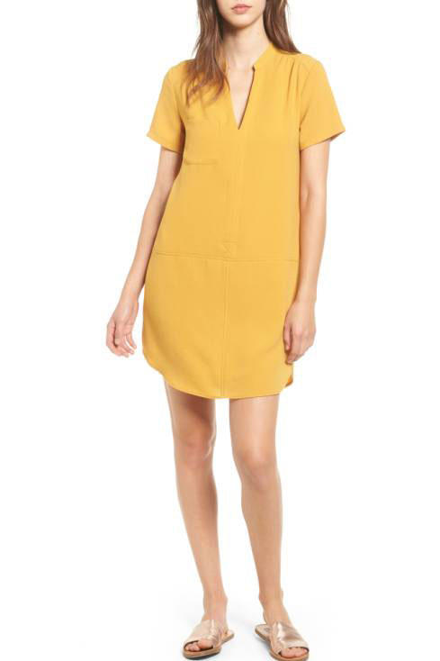 Lush Hailey Crepe Dress